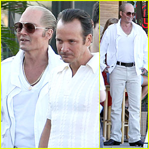 Johnny Depp Rocks Discolored Teeth For 'Black Mass' Scenes with Peter Sarsgaard