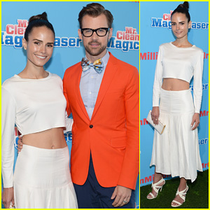 Jordana Brewster Supports Brad Goreski at the Mr. Clean Summer Fashion Party!