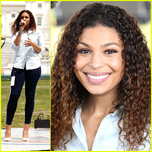 Jordin Sparks Rehearses For 'A Capitol Fourth' Concert in D.C.