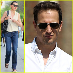 Julianna Margulies & Josh Charles Step Out After Emmy Nominations!