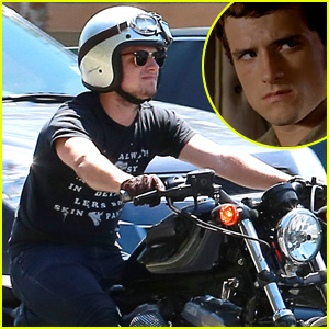 Josh Hutcherson Goes for a Motorcycle Ride After the Release of First 'Paradise Lost' Teaser