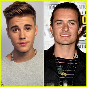 Justin Bieber Instagrams a Photo of Orlando Bloom 'Crying'