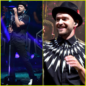Justin Timberlake Gets Panties Thrown On Stage During His Concert & Handles It Like a Pro!