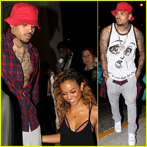 who is chris browns girlfriend