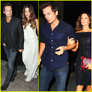 Kate Beckinsale & Len Wiseman Can't Stop Dining at Chiltern Firehouse!