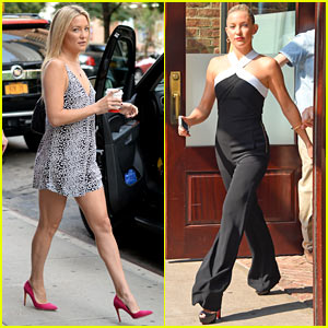 Kate Hudson Gives Baby Advice to Today's Savannah Guthrie