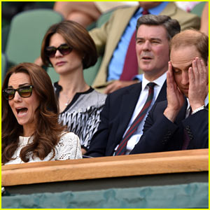 Kate Middleton & Prince William Are So Emotionally Invested in Andy Murray at Wimbledon - See the Pics!