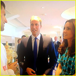 Kate Middleton & Prince William Greet Wimbledon Winner Novak Djokovic - Watch Now!