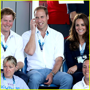 Kate Middleton & Prince William Are Anything But Common at Commonwealth Games!