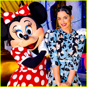 Katy Perry Celebrates Fourth of July at Disney World!