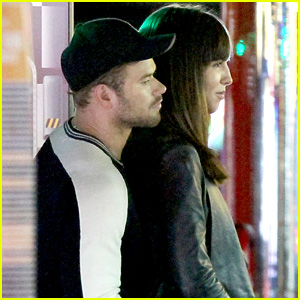 Kellan Lutz Gets Cozy With Mystery Brunette at Dave & Buster's