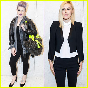 Kelly Osbourne & Rumer Willis Get Edgy for The Kooples Opening!