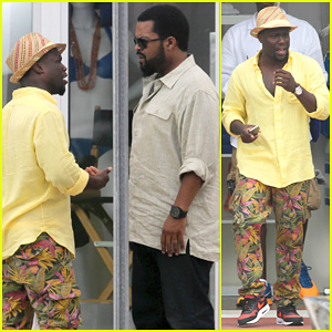 Kevin Hart Begins Filming 'Ride Along 2' with Ice Cube in Miami!
