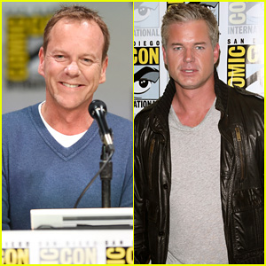24's Kiefer Sutherland & Last Ship's Eric Dane Present Their Shows at Comic-Con 2014!