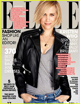 Kristen Wiig Tells 'Elle' She Gets Fully Naked in 'Welcome to Me' & Craves Dramatic Roles