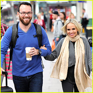 Kristin Chenoweth & Boyfriend Dana Brunetti Look Cute Together Before Her Royal Albert Hall Concert