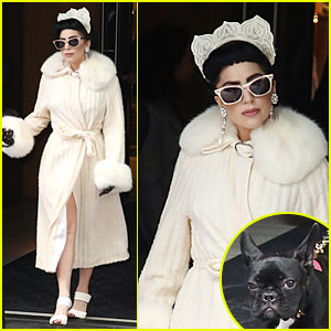 Lady Gaga Looks Like Royalty With Her Crown in Toronto!