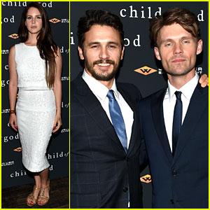 Lana Del Rey Supports James Franco at 'Child of God' Premiere