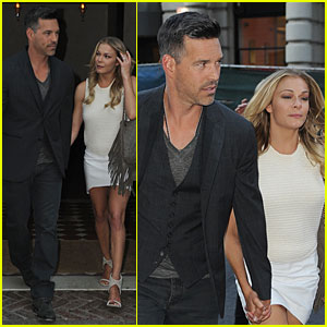 LeAnn Rimes & Eddie Cibrian Celebrate Her Gal Pal Chrissy's Birthday at Nobu!
