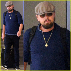 Leonardo DiCaprio Jets Out of Miami After Going Shirtless for Ocean Swim!
