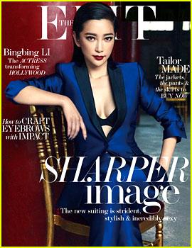 Transformers' Li Bingbing Covers 'The Edit' Magazine