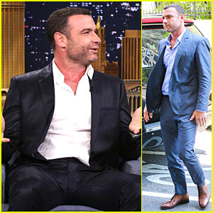 Liev Schreiber Misses New York & Looks So Happy to Be There!