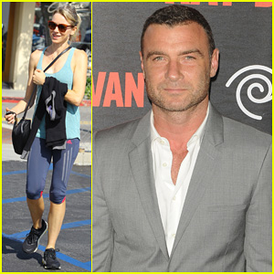 Liev Schreiber Suits Up for 'Ray Donovan' Season 2 Premiere, Naomi Watts Works It Out in Brentwood!