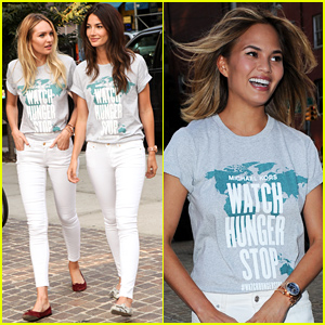Lily Aldridge, Candice Swanepoel, & Chrissy Teigen Pose for 'Watch Hunger Stop' Campaign