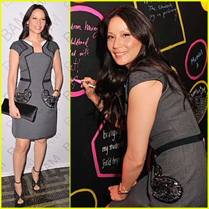Lucy Liu Shows Support For BAM Education at Ignite Gala!