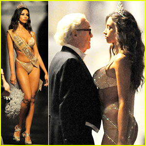 Madalina Ghenea Strips Down for a Scene with Michael Caine