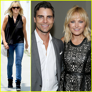 Malin Akerman Does Lunch After Her Date Night with Colin Egglesfield