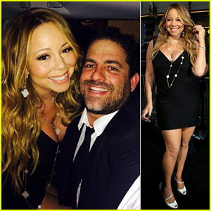Mariah Carey Supports Pal Brett Ratner at 'Hercules' Premiere!
