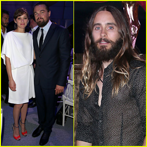 Marion Cotillard & Jared Leto Lend Their Support at Leonardo DiCaprio's Foundation Gala!