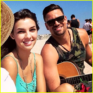 Glee's Mark Salling Dating Disney Actress Denyse Tontz!