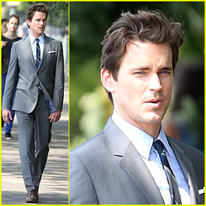 Matt Bomer Looks Like He Walked Out of a Catalogue on 'White Collar' Set!