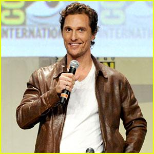 Matthew McConaughey Brings 'Interstellar' to Comic-Con 2014!