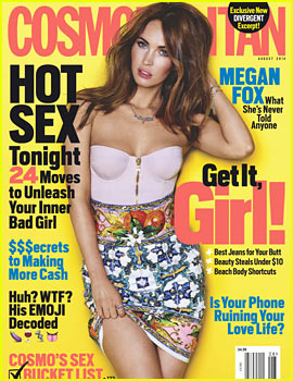 Megan Fox to 'Cosmopolitan': Ellen DeGeneres is Sexy!