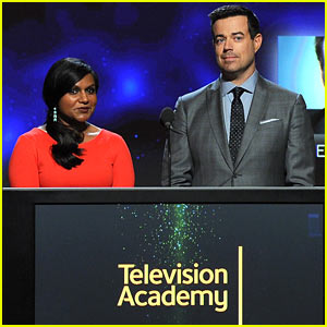 Mindy Kaling & Carson Daly Wake Up Early to Announce Emmy Awards 2014 Nominations