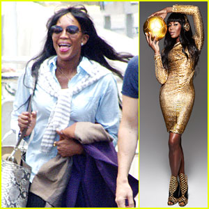 Naomi Campbell Is The Golden Girl For the World Cup