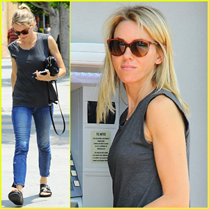 Naomi Watts Takes Time to Get a Blowout During Busy Day of Errands!
