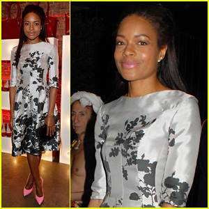 Naomie Harris Helps Celebrate Virgin Atlantic's New Vivienne Westwood Collection!