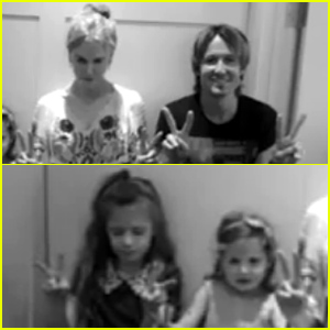 Nicole Kidman, Keith Urban, and Daughters Sunday & Faith Join Reba McEntire's 'Pray for Peace' Campaign (Video)