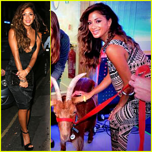 Nicole Scherzinger Milked a Goat on Live Radio & There's Pictures of the Event!