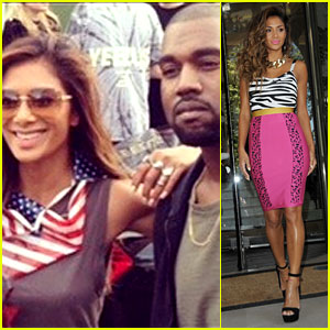 Nicole Scherzinger Spent July 4th with Kanye West in London