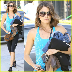 Nikki Reed Gets Her Fitness On After Really Busy Weekend