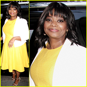 Octavia Spencer is a Ray of Sunshine at 'Today' Show