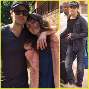 Paul Wesley Lands in Atlanta After Romantic Birthday Trip with Girlfriend Phoebe Tonkin