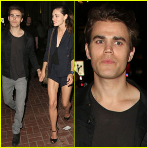 Paul Wesley & Phoebe Tonkin Show Some PDA After Comic-Con!