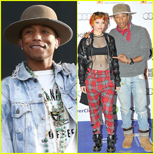 Pharrell Williams Takes Home Big Prize from Nordoff Robbins 02 Silver Clef Awards!