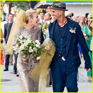 Piper Perabo & Stephen Kay's Wedding Photo Revealed!